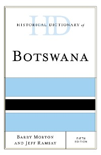 Cover Historical Dictionary of Botswana
