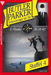 Cover Butler Parker Staffel 4 – Kriminalroman