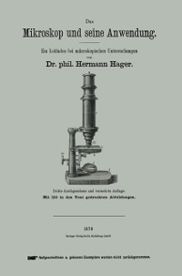 Cover Das Mikroskop und seine Anwendung