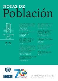 Cover Notas de Población Año XLV No.107 Julio-Diciembre de 2018