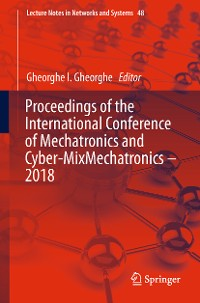 Cover Proceedings of the International Conference of Mechatronics and Cyber-MixMechatronics – 2018