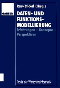 Cover Daten- und Funktionsmodellierung