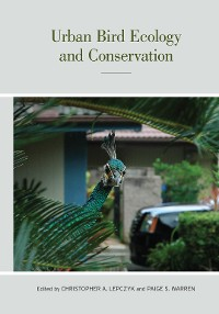Cover Urban Bird Ecology and Conservation