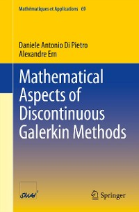 Cover Mathematical Aspects of Discontinuous Galerkin Methods