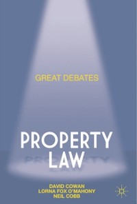 Cover Great Debates in Property Law