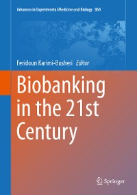 Cover Biobanking in the 21st Century