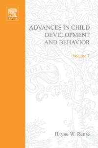 Cover Advances in Child Development and Behavior