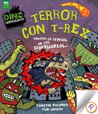 Cover Terror con T-Rex