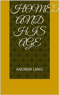 Cover Homer and His Age