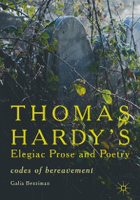 Cover Thomas Hardy's Elegiac Prose and Poetry