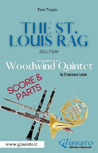 Cover The St. Louis Rag - Woodwind Quintet (score & parts)