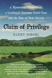 Cover Claim of Privilege