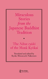 Cover Miraculous Stories from the Japanese Buddhist Tradition