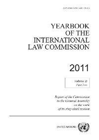 Cover Yearbook of the International Law Commission 2011, Vol. II, Part 2