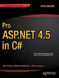 Cover Pro ASP.NET 4.5 in C#