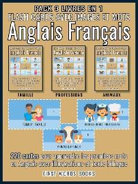Cover Pack 3 Livres en 1 - Flash Cards avec Images et Mots Anglais Français