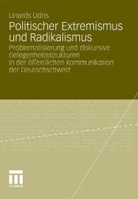 Cover Politischer Extremismus und Radikalismus