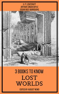 Cover 3 books to know Lost Worlds