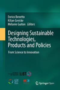 Cover Designing Sustainable Technologies, Products and Policies