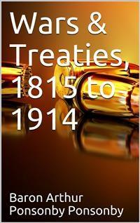 Cover Wars & Treaties, 1815-1914