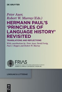 Cover Hermann Paul's 'Principles of Language History' Revisited