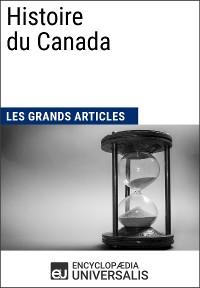 Cover Histoire du Canada