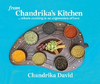Cover from Chandrika's Kitchen . . .