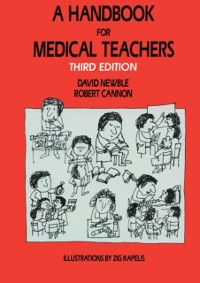 Cover Handbook for Medical Teachers