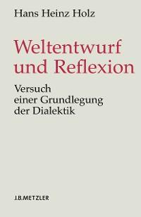 Cover Weltentwurf und Reflexion