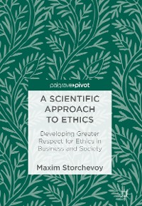 Cover A Scientific Approach to Ethics