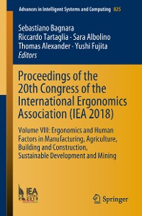 Cover Proceedings of the 20th Congress of the International Ergonomics Association (IEA 2018)