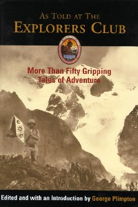 Cover As Told at The Explorers Club