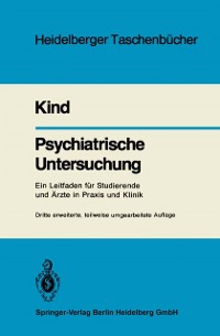 Cover Psychiatrische Untersuchung