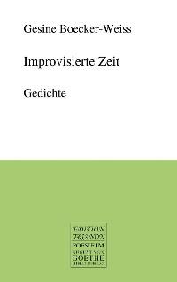 Cover Improvisierte Zeit