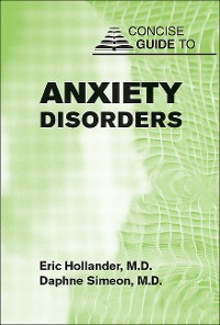Cover Concise Guide to Anxiety Disorders