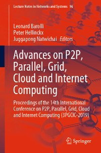 Cover Advances on P2P, Parallel, Grid, Cloud and Internet Computing