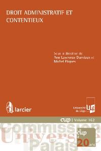 Cover Droit administratif et contentieux