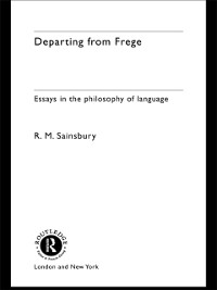 Cover Departing from Frege