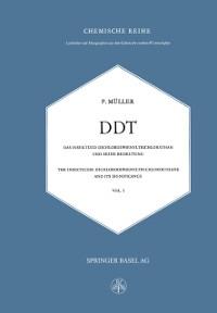 Cover DDT Das Insektizid Dichlordiphenyltrichlorathan und Seine Bedeutung