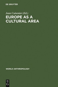 Cover Europe as a Cultural Area