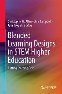Cover Blended Learning Designs in STEM Higher Education