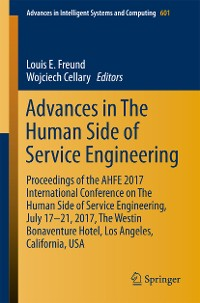 Cover Advances in The Human Side of Service Engineering