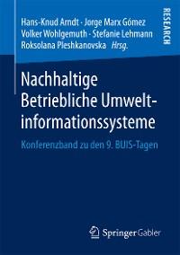 Cover Nachhaltige Betriebliche Umweltinformationssysteme
