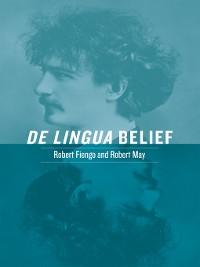 Cover De Lingua Belief