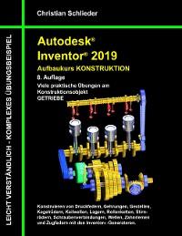 Cover Autodesk Inventor 2019 - Aufbaukurs Konstruktion