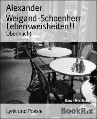 Cover Lebensweisheiten!!