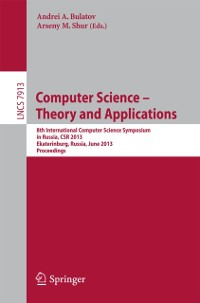 Cover Computer Science - Theory and Applications