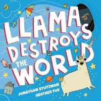 Cover Llama Destroys the World