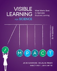 Cover Visible Learning for Science, Grades K-12