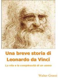 Cover Una breve storia di Leonardo da Vinci